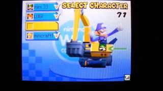 Mario Kart DS ~ Copy Emblem's On Wifi!