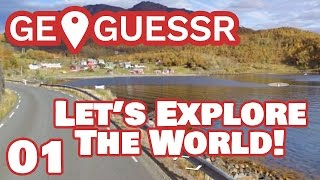Let's Explore the World! || GeoGuessr with 7 people! || #1