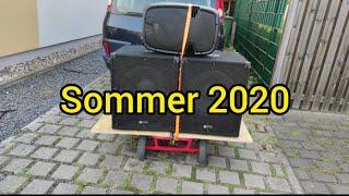 Pa Anlage auf dem Bollerwagen | Sommer 2020