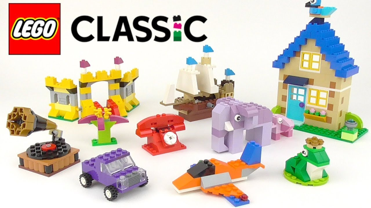 Download LEGO Classic Bricks Bricks Bricks (10717) - Toy Unboxing and Building Ideas