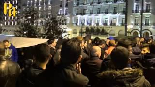 Аллах-Акбар на площади Синтагма и Монастыраки