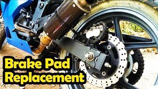 Replace Brake Pads - Ninja 250