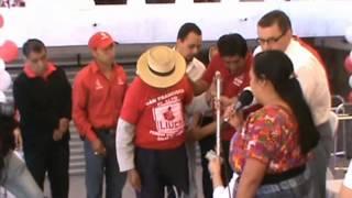 Dr. Manuel Baldizón visita San Francisco el Alto, Totonicapán