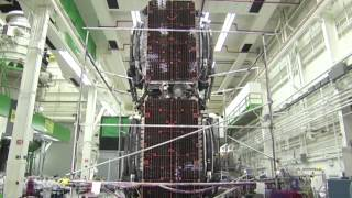 Stacked Boeing's Satellites Tested for the Rigors of Space