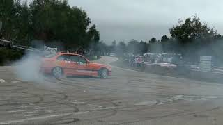 BMW M3 e36 at hill climb drifting 360 Panizzi's style