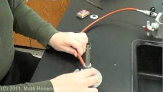 Chemistry Lab:  Manipulation Of Glass Tubing