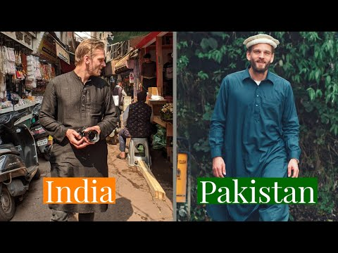 How I Blend in While Travelling India & Pakistan