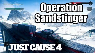 JUST CAUSE 4 Gameplay - Operation Sandstinger: Train Robbery | Rico Steals a Cannon!
