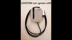 Leviton evr-green e30 Electric Vehicle Charging Station Installation
