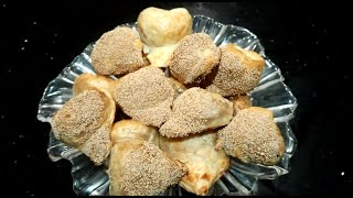 HOW TO MAKE DATE TURNOVERS (DATE FILLED PUFF PASTRY - Afghan sweets)