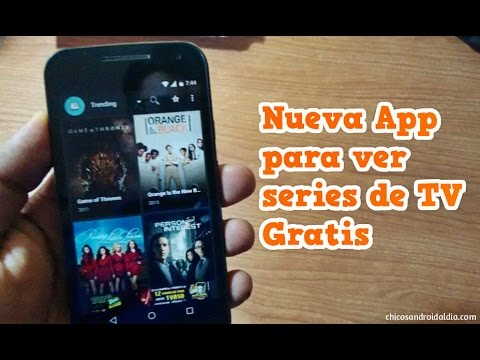 Nueva App para ver SERIES de TV GRATIS para Android - Terrarium TV