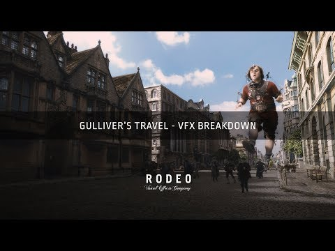Gulliver's Travels | VFX Breakdown by Rodeo FX