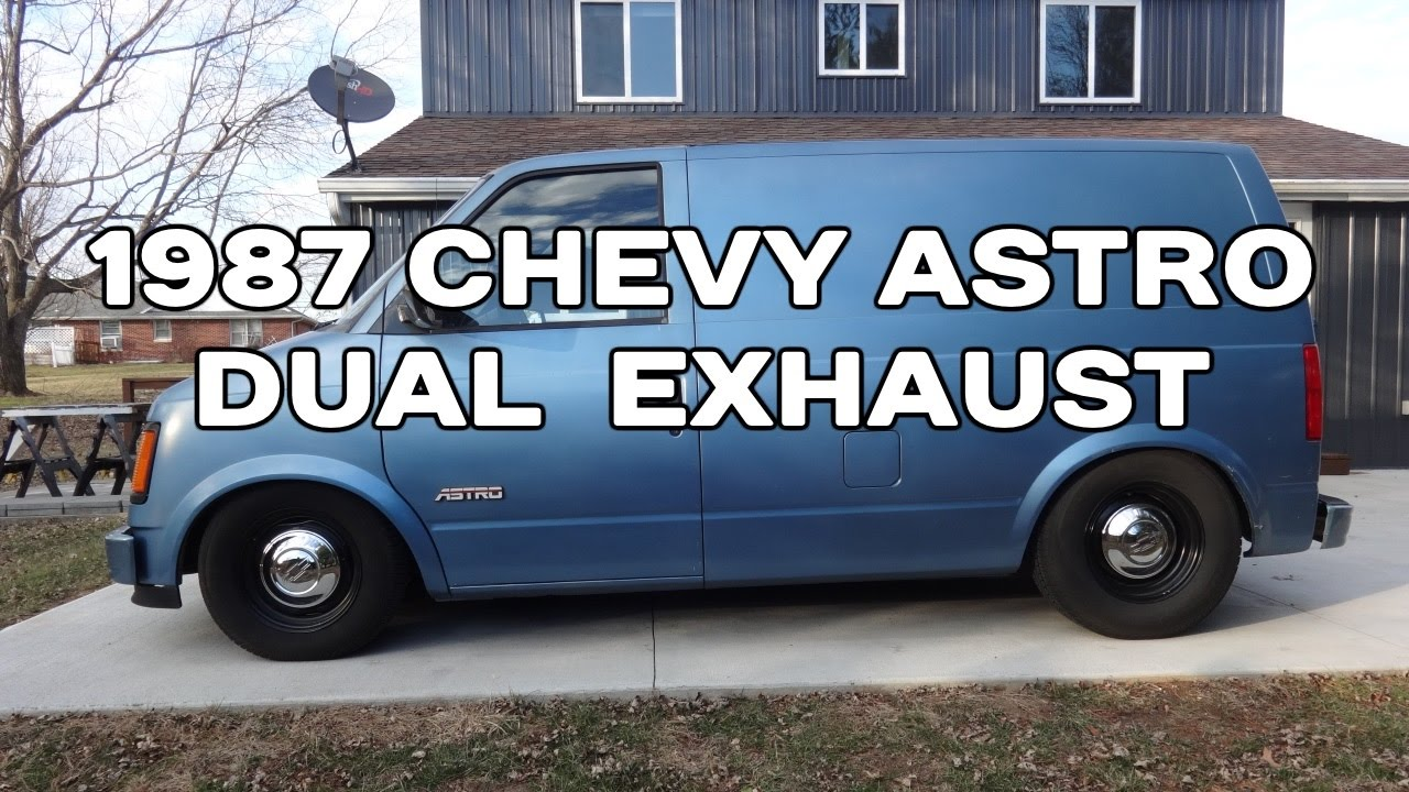 Free Flow Exhaust >> 1987 Chevy Astro 4.3 V6 Dual Magnaflow Exhaust (with High Flow Cat) - YouTube