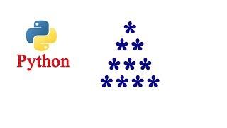 Python Pattern Program - Printing Stars in Pyramid Shape Using while loop