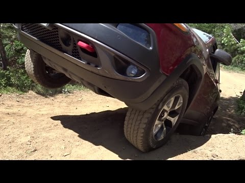 Traction Control Demo (Gold Mine Hill, Colorado) - Jeep Cherokee KL Trailhawk