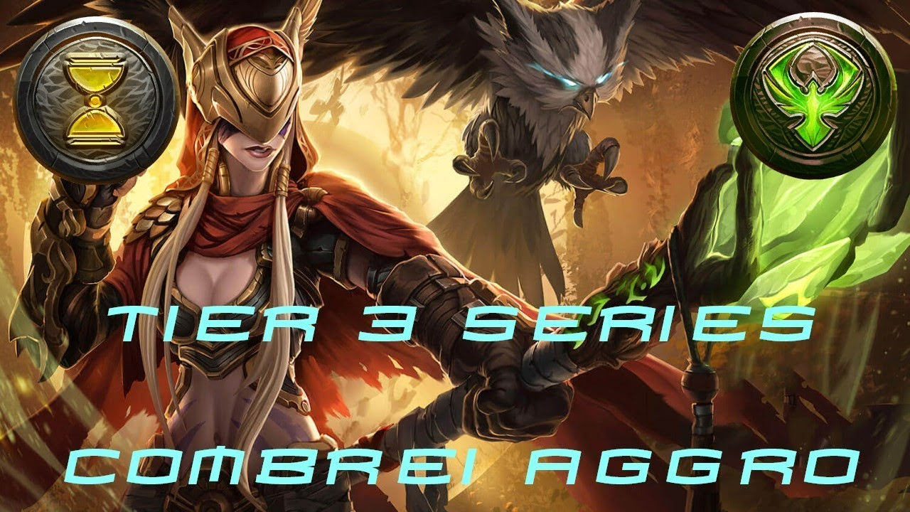 Eternal Card Game Tier 3 Series Combrei Aggro January 2018