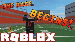 THE RAGE BEGINS! [Roblox NFL Funny Moments #2]
