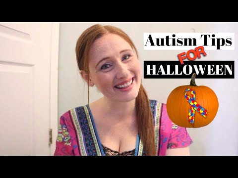 AUTISM TIPS FOR HALLOWEEN 👻
