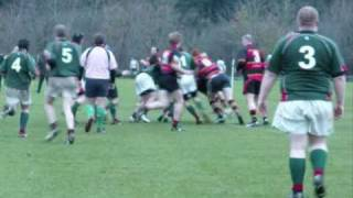 Civil Service (NI) RFC 1st XV vs Lurgan RFC Wolfhound Cup 2010 Match Highlights