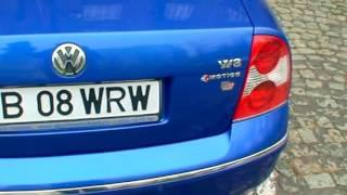 VW Passat W8 Sport 6 manual transmission+short shifter,305bhp,boite manuelle,tuning,video