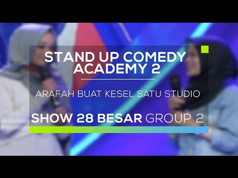 Arafah Smart Girl Bikin Kesel Satu Studio (SUCA 2 - 28 Besar Group 2)