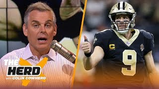 Colin was more impressed by Saints in loss to 49ers than Chiefs in win vs Patriots   NFL   THE HERD
