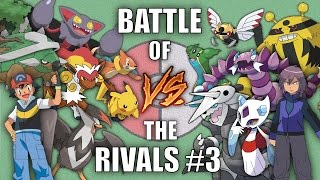 Battle of the Rivals #3 (Ash vs Paul) - Pokemon Battle Revolution (1080p 60fps)