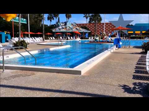 Disneys All Star Music resort and room tour