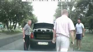 This is how you deal with road rage in Russia