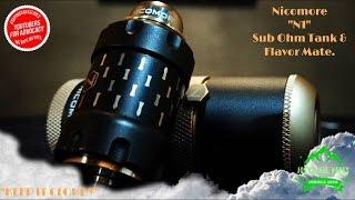 NEW sub ohm tank review~ Nicomore