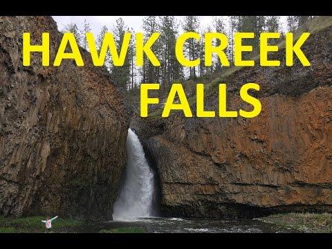 Hawk Creek Falls Waterfall HD (1 Hour)