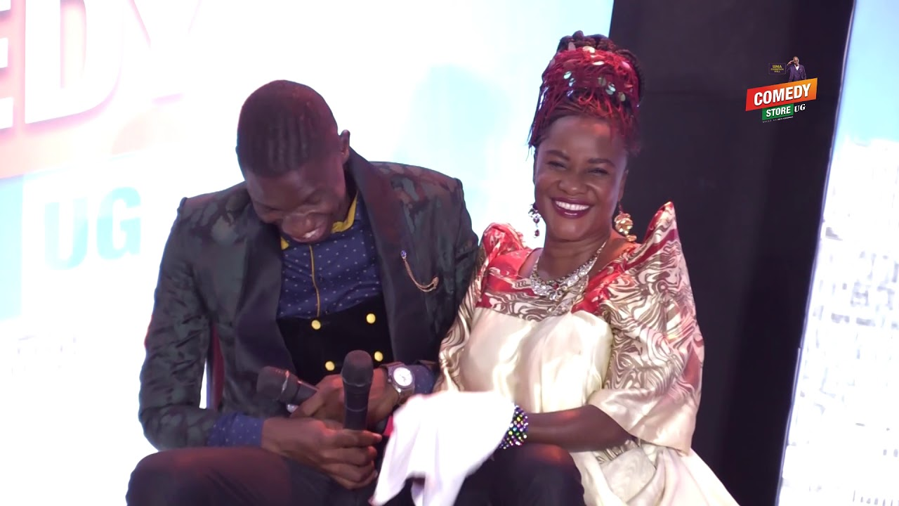 Alex Muhangi Comedy Store Feb 2019 - Ssenga Nantume