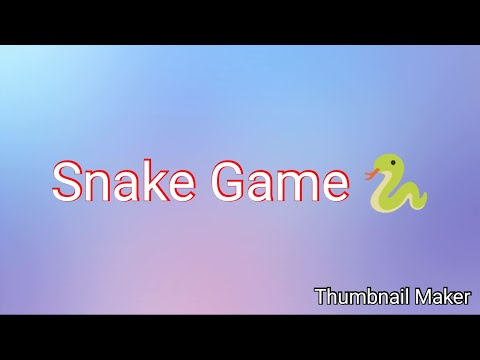 Snake Game Gameplay! (Google Easter Egg)