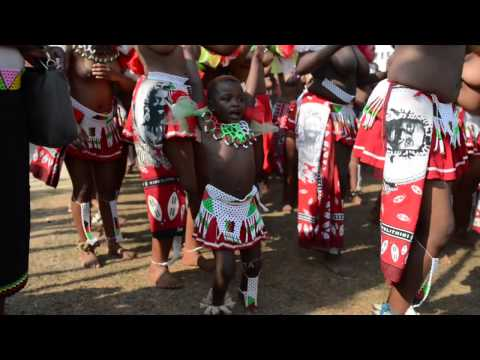 Umhlanga, The  Reed Dance in Swaziland