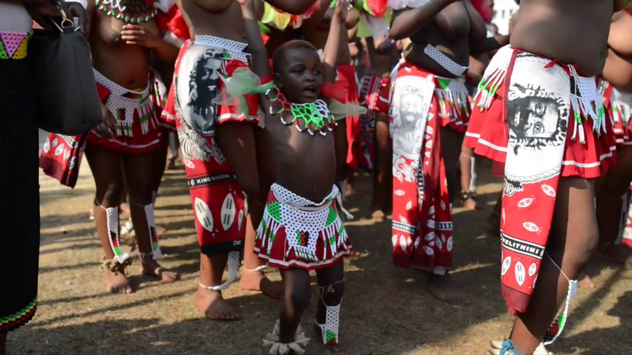 Umhlanga the reed dance in swaziland youtube