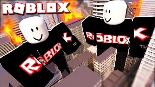 Roblox Adventures - ATTACKED BY GIANT GUESTS IN ROBLOX! (Guest Destruction)