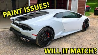 Download Rebuilding A Wrecked Lamborghini Huracan Part 13 Mp3 and Videos