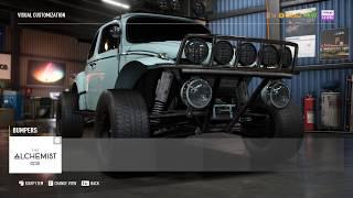 NFS PAYBACK:  VW BEETLE OFFROAD SUPERBUILD (BAJA BUG)