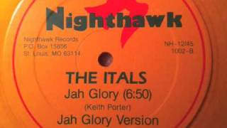 The Itals- Jah Glory 12""