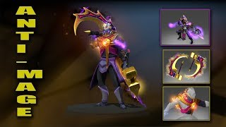 Dota 2 Plus Anti-Mage Best Mix Set With Immortals (Oathbound Defiant - Golden Basher)