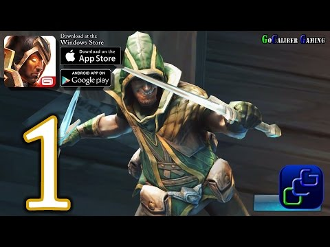 Dungeon Hunter 5 Android, IOS, Windows Walkthrough - Gameplay Part 1 - Prologue