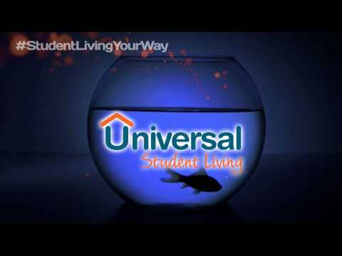 Universal Student Living Promotional fish 15 seconds
