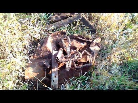 Осенний коп металла в полях и на урочище