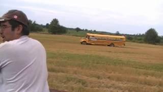 dumptruck vs bus