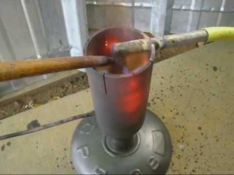 Gazéïficateur pour huiles usagées/ Oil waste burner / www.ecoteco.fr