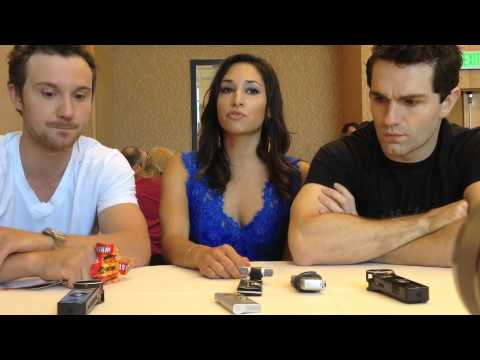 Comic Con : Being Human's Sam Huntington, Meaghan Rath & Sam Witwer Talk New Season