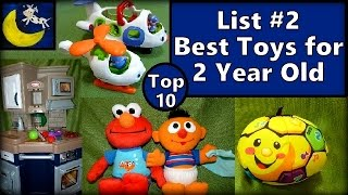 List #2: Top 10 Best Toys for 2 Year Old! Fisher Price, Elmo, Kitchen Playset & MORE!