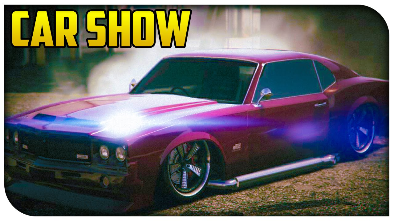 Gta 5 Online Muscle Car Showcase Stream Highlights Gta V