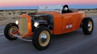 Nashville to LA! Winter Road Trip in a Topless Deuce Roadster - HOT ROD Unlimited Episode 26