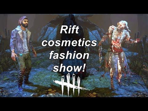 Dead By Daylight| Rift cosmetics fashion show!